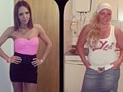 (FOTO) OVO JE ISTA ŽENA: Ona je sestra poznate pevačice i uspela je da dobije bitku sa kilogramima