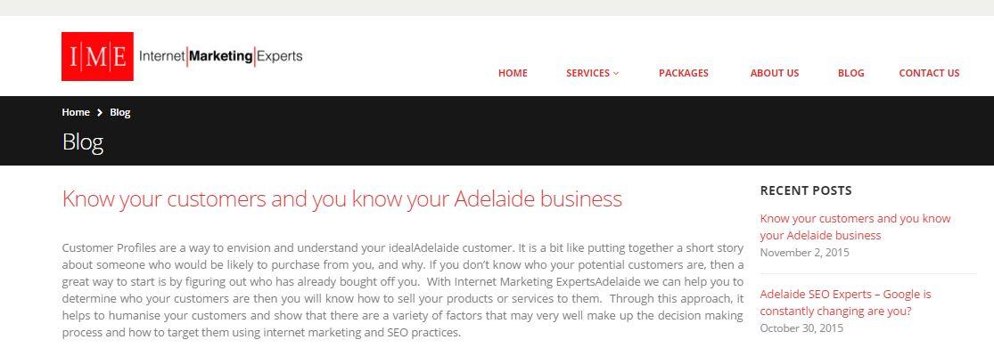 Online SEO Advertising Adelaide